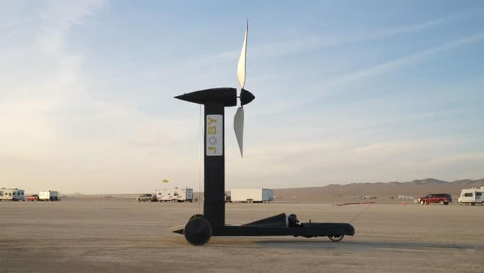 A physicist and a YouTuber bet $10,000 on if wind-powered vehicle can outrun the wind