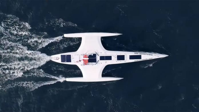 AI-powered Mayflower autonomous ship sets sail across the Atlantic