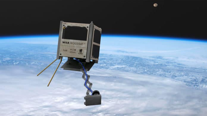 World's first wooden satellite to launch this year