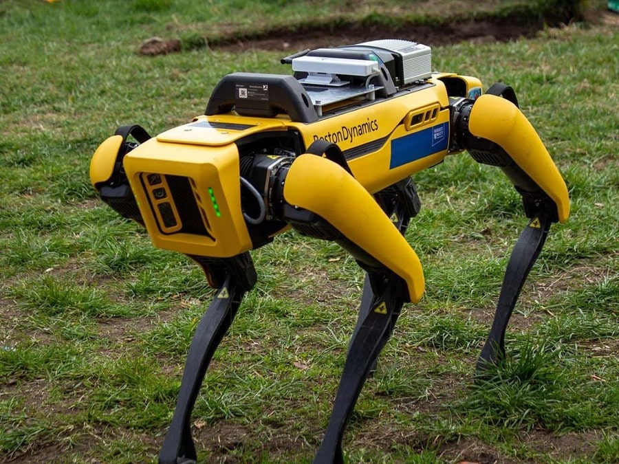 New robot set to help people in hazardous environment research.