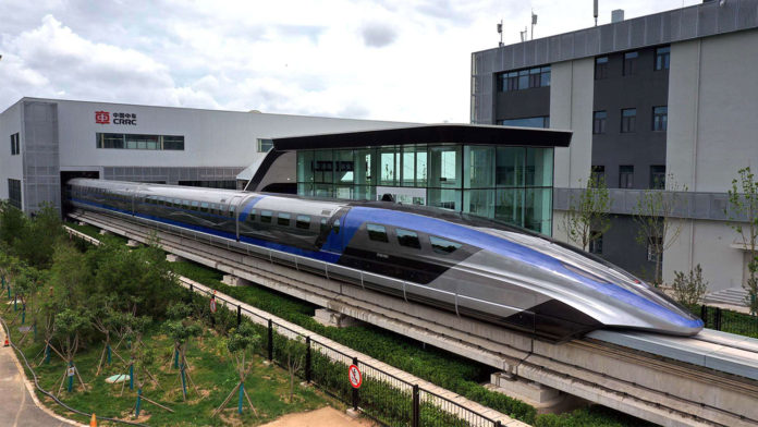 China unveils the world's fastest maglev train