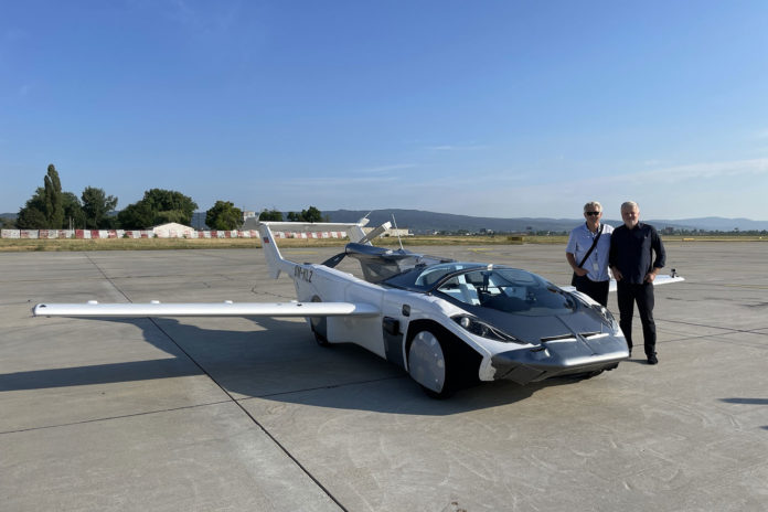 Klein Vision's transforming AirCar completes its first-ever inter-city flight