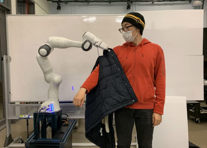 Robots could help people with disabilities get dressed.