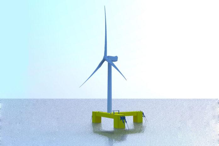 Samsung Heavy Industries develops 9.5-MW offshore wind floater model.
