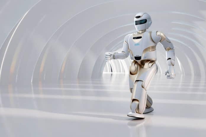 UBTECH Robotics unveils its new intelligent humanoid service robot.