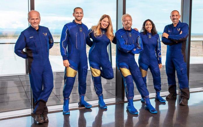 Richard Branson's Virgin Galactic announces first fully crewed spaceflight