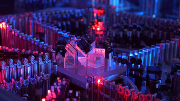 China demonstrates the world's most powerful quantum computer