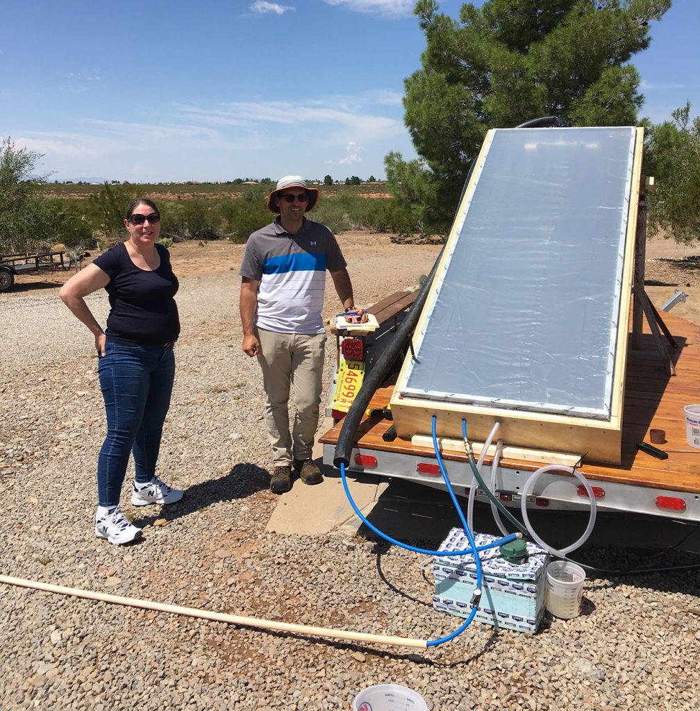 Suns River Still uses sunlight to pull pure water from seawater