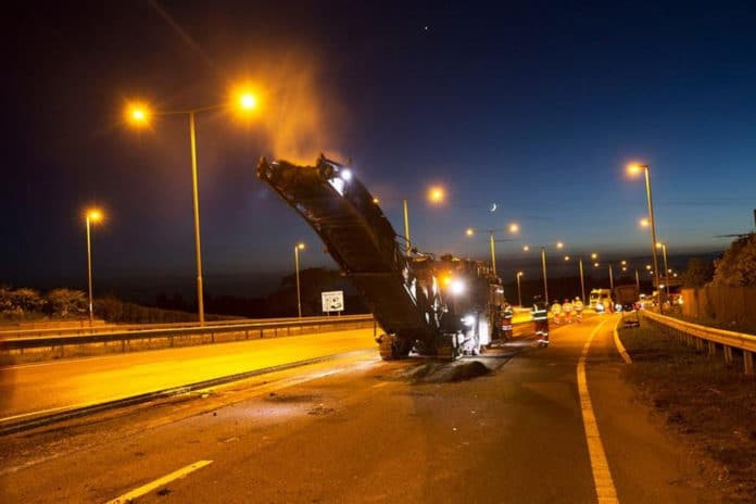 World-first road surfacing trials using graphene to begin on A1 in Northumberland.