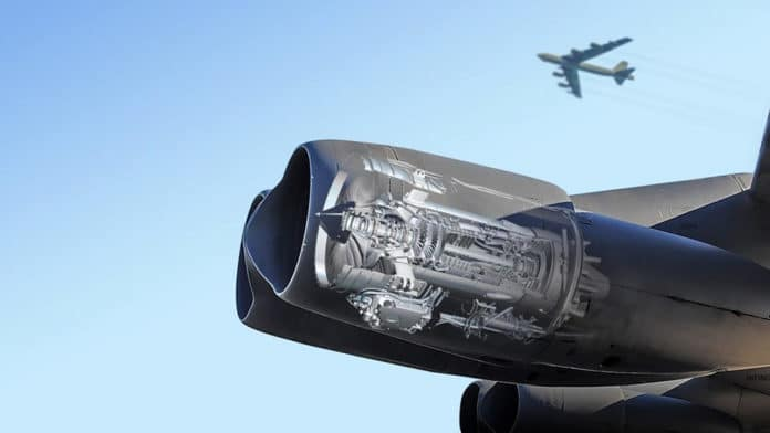 Rolls-Royce F-130 engine will power the B-52 for the next 30 years.