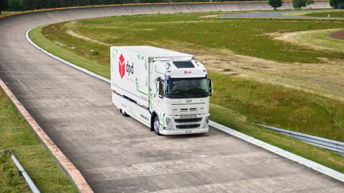Futuricum e-truck set a world record for driving 683 miles on a single charge.