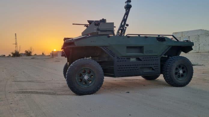 Israel Aerospace Industries' new Rex MK II land vehicle will keep troops out of harm's way.