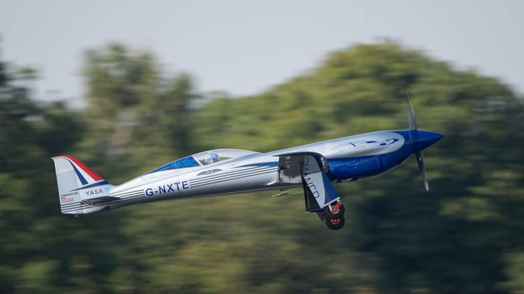 The first flight is another step towards the plane's world-record attempt.