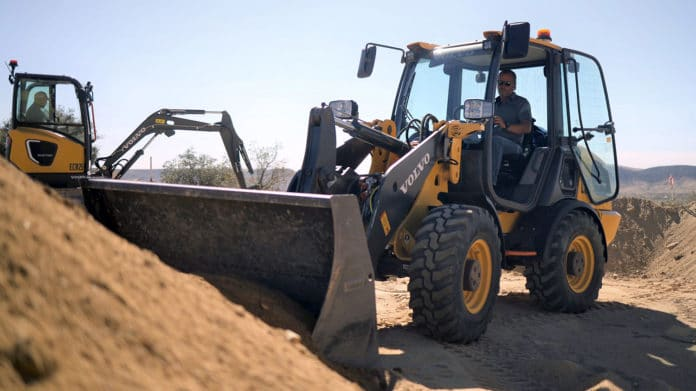 Volvo CE tests its electric construction equipment ahead of market launch.