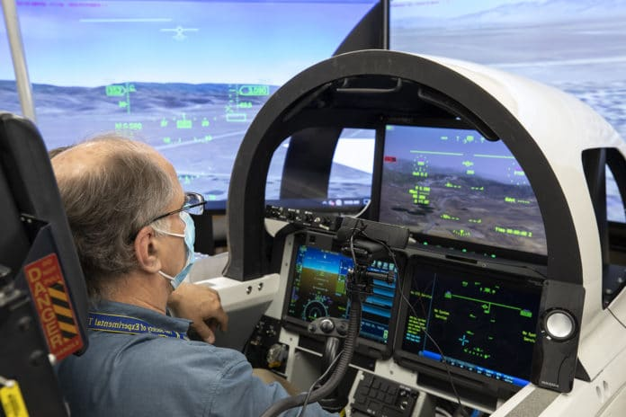 NASA tests cockpit vision system for its superSonic X-59 aircraft