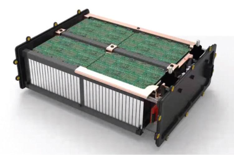 Lithium-carbon battery