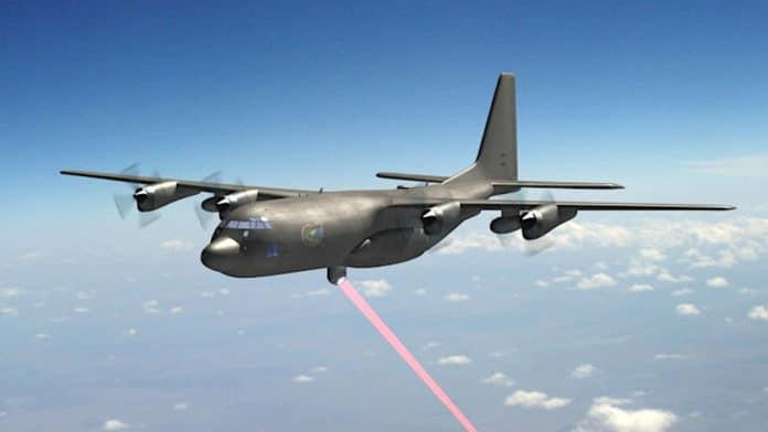 U.S. Air Force to test Airborne High Energy Laser on AC-130J gunship.