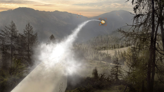 BAE Systems tests APKWS laser-guided rockets to destroy airborne drones.