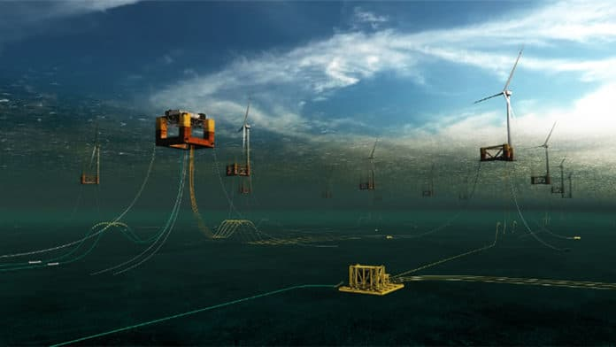 Scotland's first offshore wind underwater substation to power millions of homes.