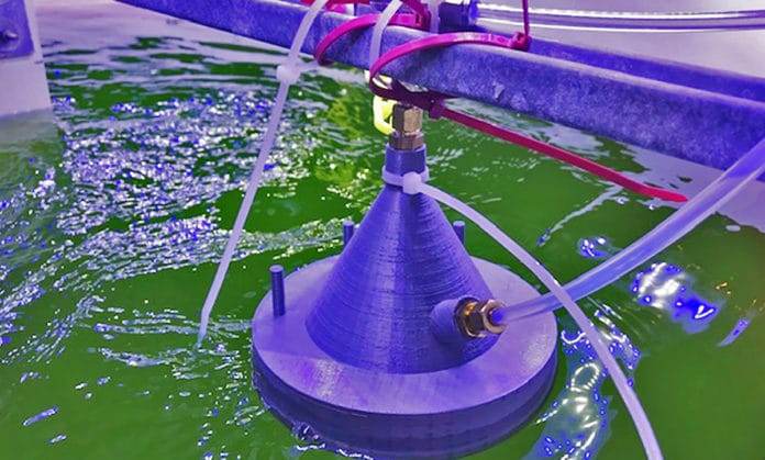 A new technology developed at UC San Diego uses chemical ionization mass spectrometry to alert algae growers when volatile gas signatures change.
