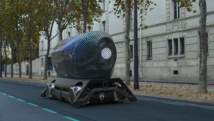 Citroën Skate with Pullman Power Fitness pod.