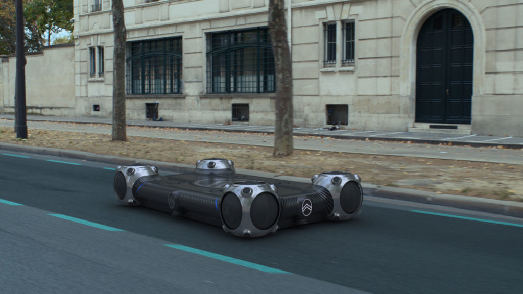 The Citroën Skate is a self-driving electric vehicle platform.