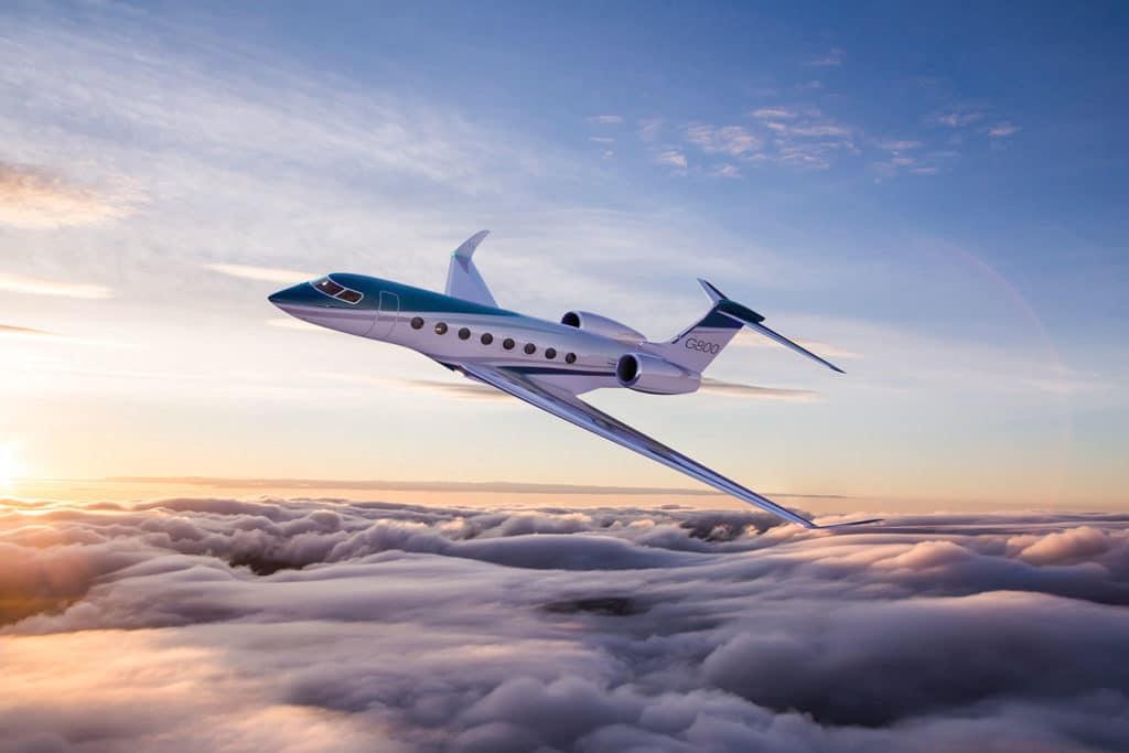 Gulfstream G800, the fastest longest-range aircraft.
