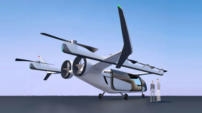 Honda eVTOL aircraft will make mobility in the skies more accessible for people.