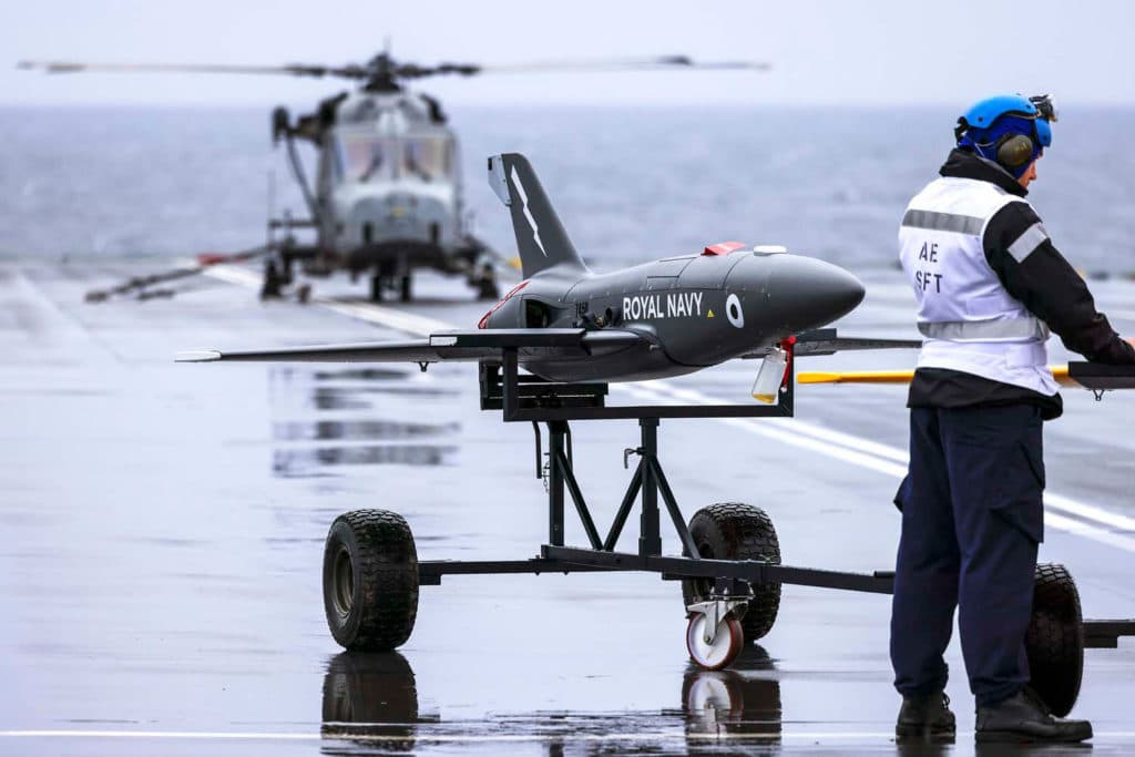 Banshee Jet 80+ can be used to test future sensors, weaponry and radio equipment.