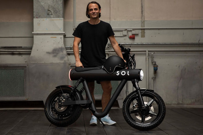 Eye-catching Pocket Rocket electric motorbike available for pre-order.