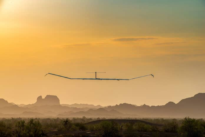 Airbus Zephyr solar-powered stratospheric drone sets new altitude record.
